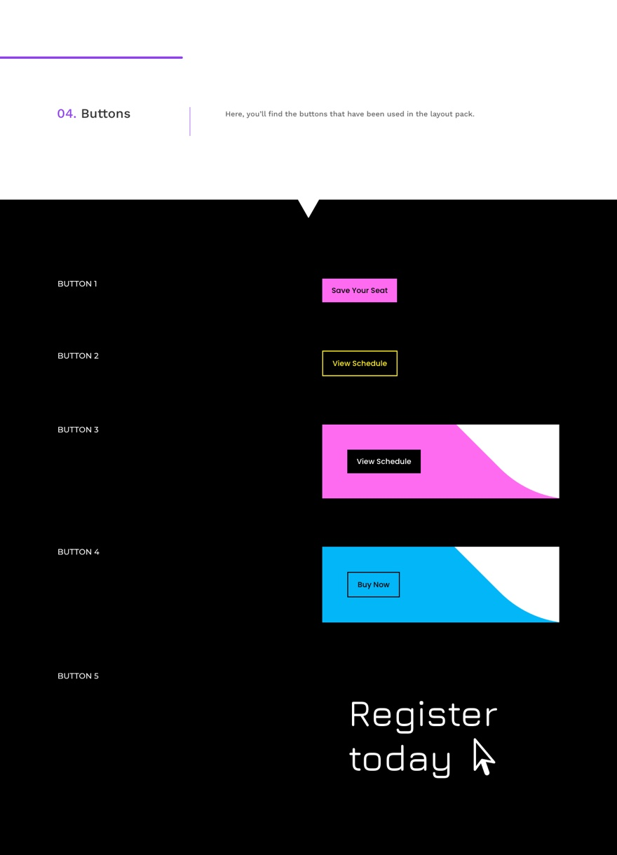 virtual conference global presets style guide